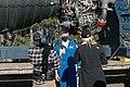Astronaut Matthew Dominick speaks with media representatives prior to the SLS Green Run Test 03.jpg