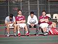 Athletes Relax on the Tennis Courts - Vassar College - Poughkeepsie - New York - USA (6932476196).jpg