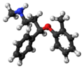 Atomoxetine molecule ball.png