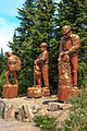 Atop Grouse Mountain in Vancouver BC - big tree sculptures - (18917162751).jpg
