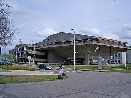 The Delft University of Technology. Aula TU Delft.jpg