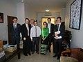 Aung San Suu Kyi, Francis Maude (representing OGP) and their respective teams (8492578058).jpg