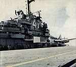 Australian Gannet AS.1 takes off from USS Philippine Sea (CVS-47) in May 1958.jpg