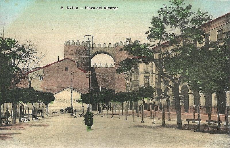 File:Avila Plaza Santa Teresa 1909 01.jpg