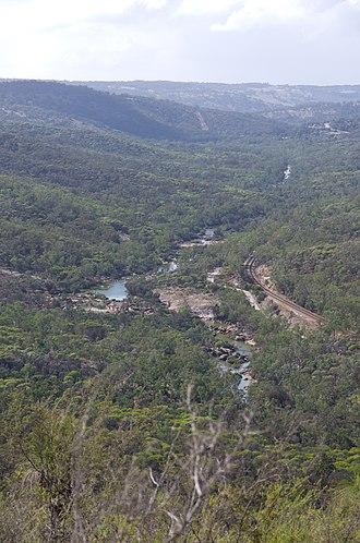 Avon River (Western Australia) - Avon River flowing through the Avon Valley National Park