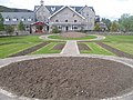 Awaiting bedding plants, Memorial Gardens Kingussie - geograph.org.uk - 809290.jpg