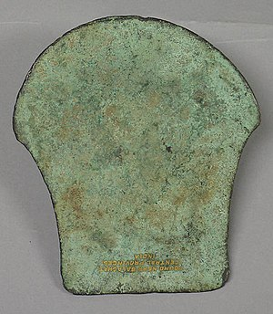Military history of India - Ancient Indian Ax Blade (Celt), 1500–1000 B.C.E.