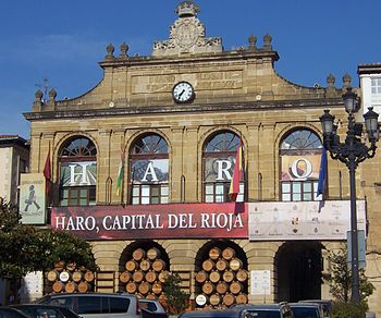Ayuntamiento durante las fiestas de junio