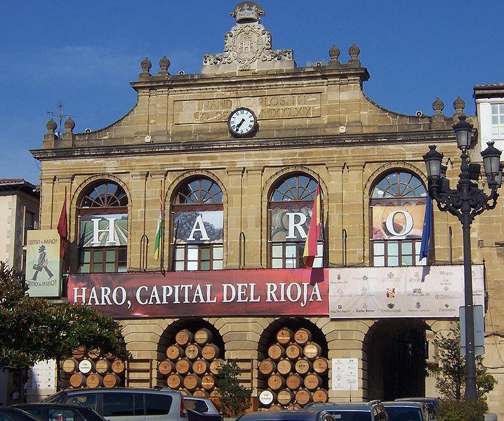 File:Ayuntamiento en Fiestas - Haro - La Rioja.jpg