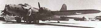 Henderson Field (Midway) - B-17E of the 72d Bomb Squadron, 5th Bomb Group which took part in the Battle of Midway, 1942