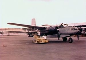 34th Training Wing - B-26B at Bien Hoa AB