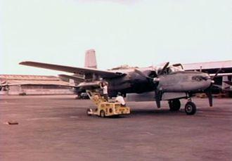 34th Training Wing - B-26B at Bien Hoa AB