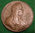 BARON OLOF THEGNER, GOVERNOR of UPLANDIA, SWEDEN MEDALLION 1687 b - Flickr - woody1778a.jpg