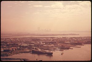 BAYONNE, NEW JERSEY AND NEW YORK HARBOR. THE R...