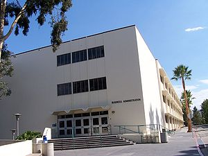 SDSU Fowler College of Business Administration - SDSU Business Administration building