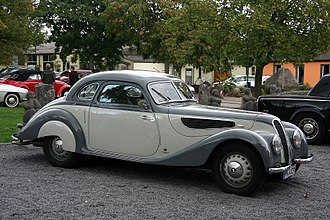 Coupé - 1940 BMW 327 coupé