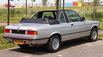 BMW 3 Series (E21) - Baur TopCabriolet