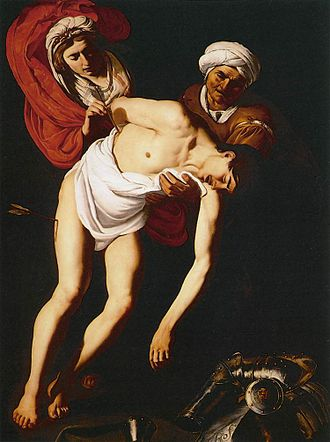 Castulus - Image: Baburen St Sebastian Attended by St Irene and Her Maid 1615