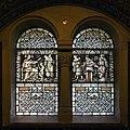 Bad Homburg-Erloeserkirche-Glasmalerei-Suedostquerhaus unter der Empore-20110320.jpg