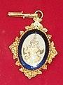 Badge of 2nd class of the Order of Rama - Maha Yodhin (reverse).jpg