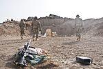 Baker Company of Task Force Gold Geronimo making their mark in Rahman Kheyl DVIDS544242.jpg