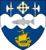 Coat of arms of Ballina