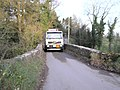 Ballynahatty Bridge - a tight squeeze - geograph.org.uk - 81756.jpg