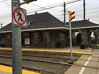 Baltimore Pike station SEPTA trolley station