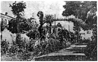 Bangas Gymnasium Secondary level male school in Korcë, Ottoman Empire