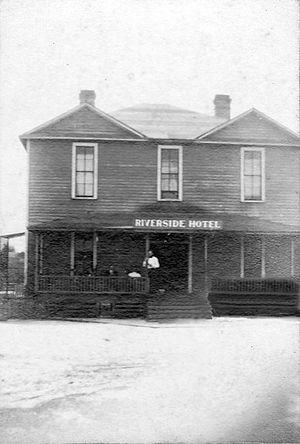 Bannockburn, Georgia - Riverside Hotel in Bannockburn, circa 1905