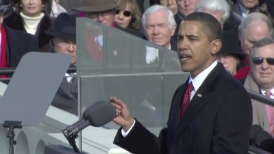 Archivo:Barack Obama inaugural address.ogv
