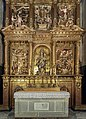 Barcelona Cathedral Interior - Altarpiece of our Lady of the Rosebush - Agusti Pujol 1617-1629.jpg
