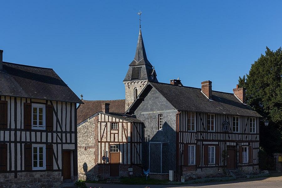 Centre-bourg de Barneville-la-Bertran