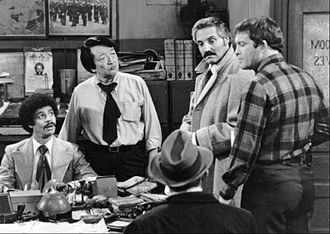 Barney Miller - A scene from the series, presumably 1977