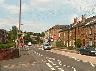Flockton village in the United Kingdom