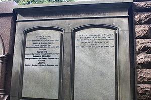 William Watson, Baron Watson - Baron Watson's grave, Dean Cemetery