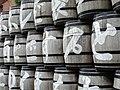 Barrels outside Old Sapporo Factory - Now Sapporo Beer Museum - Sapporo - Hokkaido - Japan (47971122366).jpg