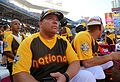 Bartolo Colon looks on during the 2016 T-Mobile -HRDerby. (28499354921).jpg