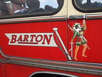 Barton Transport - Image: Barton Transport flag and Robin Hood logo