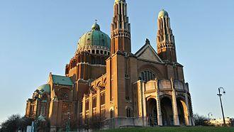 Basilica of the Sacred Heart, Brussels - Image: Basiliek van Koekelberg