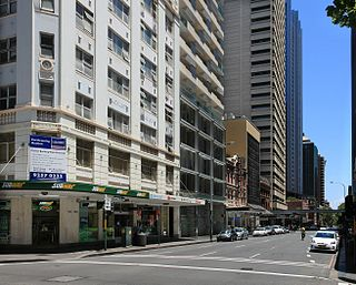 Bathurst Street, Sydney street in Sydney