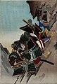 Battle at Shizugatake, Katō Toranosuke and Yamaji Shōgen by Chikanobu.jpg