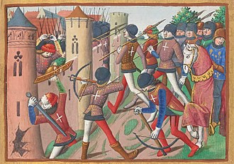 Loire Campaign (1429) - The English are mowed down by arrows at the Battle of Jargeau.