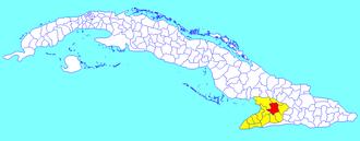 Bayamo - Image: Bayamo (Cuban municipal map)