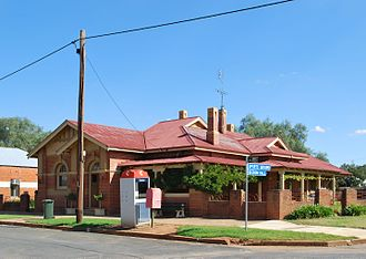 Beckom - Former Commercial Banking Company of Sydney branch in Beckom, now a private residence