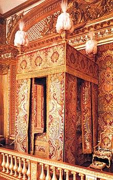 chambre du roi louis xiv france chteau de versailles avec balustre et alcve - Chambre Alcove Definition