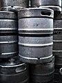Beer kegs, Albion lane - geograph.org.uk - 1703362.jpg