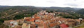 Bejís - Image: Bejís. Vista panorámica desde el castillo