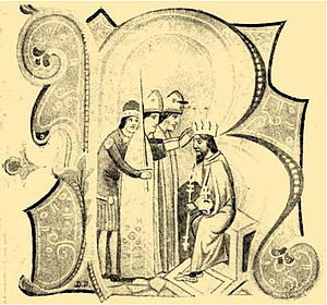 Coronation of the Hungarian monarch - Coronation of King Béla IV on 14 October 1235