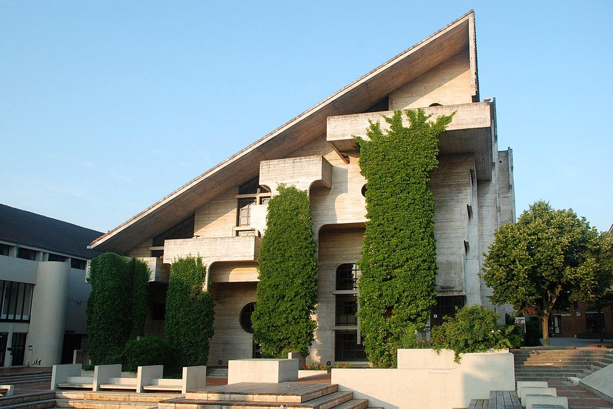 Architecture brutaliste en belgique wikip dia for Architecte de jardin belgique